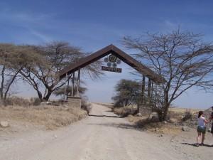 Serengeti National Park Entrance