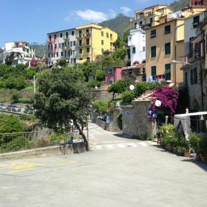 Cinque Cornigilia street scene