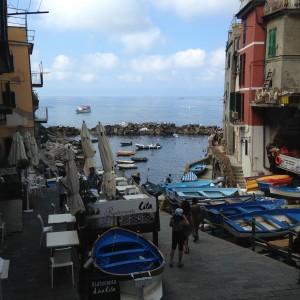Cinque Riomaggio entrance