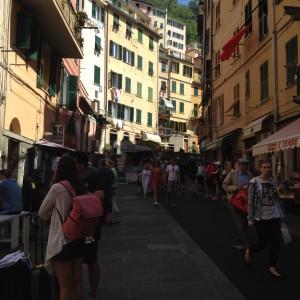 Cinque Riomaggio, street scene