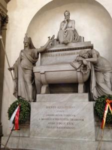 Florence Dante's Tomb Santa Croce