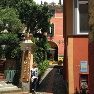 Portofino Scene with Sandi