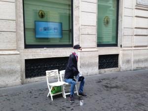 Rome 2 street mime