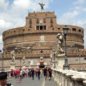 Rome 3 Castle de St. Angelo