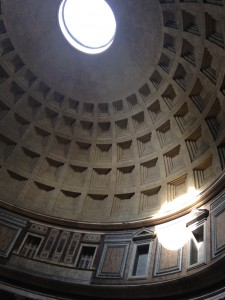 Rome 3 Pantheon dome in early a.m. 2