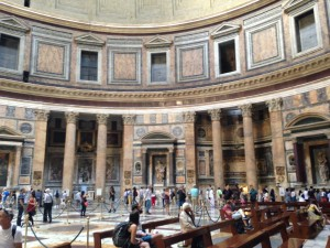 Rome 3 Pantheon interior 1