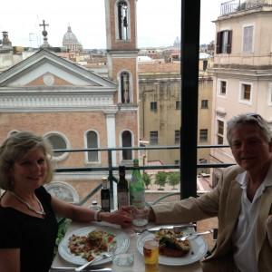 Rome 4 Last evening dining