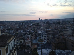 Rome Dusk scene from Imago