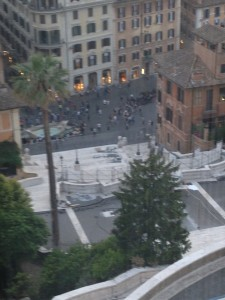 Rome Spanish Steps from Imago best