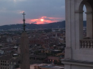 Rome Sunset 1 may be best